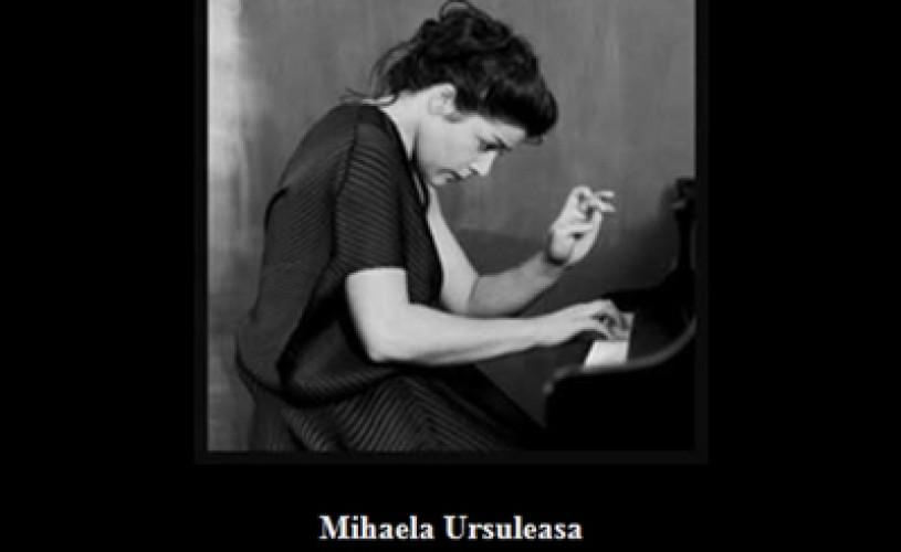 Joi seara, la Ateneul Român: Concert în memoria pianistei Mihaela Ursuleasa