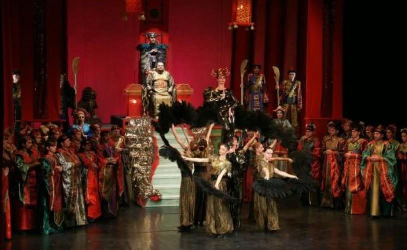 Regal de balet la Timişoara