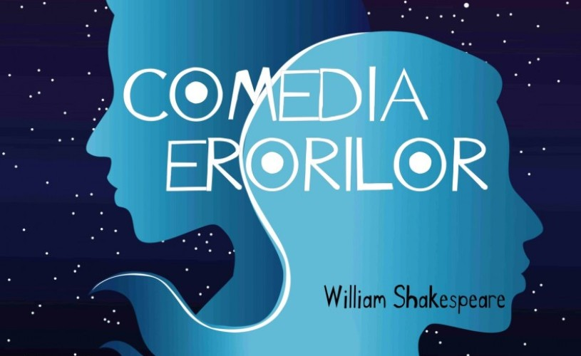 Comedia Erorilor vine la Teatrul Masca