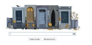Google sărbătoreşte Halloween. Ce logo a pregătit motorul de căutare?!