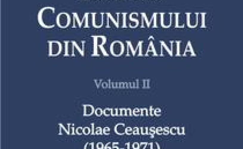 """""""Istoria comunismului din România"""", volumul al II-lea, a fost lansat la Muzeului Naţional al Ţăranului Român"""