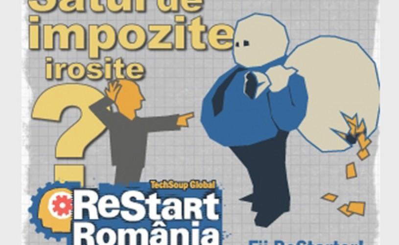 Ultimele zile pentru înscrierea de proiecte online – ReStart Romania