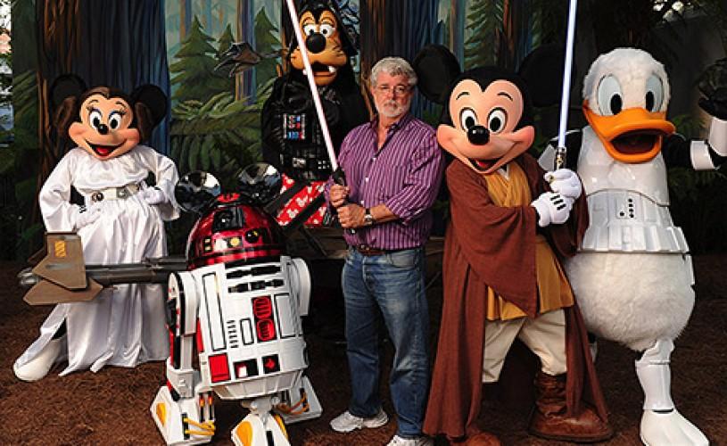 """Disney va cumpara franciza """"Războiul stelelor"""". Disney a anunţat că va lansa al şaptelea film din serie."""