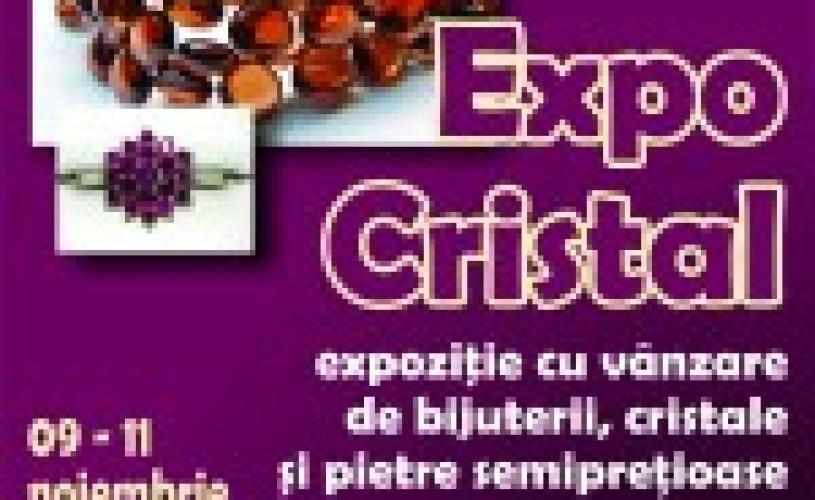 """Despre expoziţia de bijuterii şi minerale """"Expo Cristal"""" de la Muzeul Naţional de Geologie"""