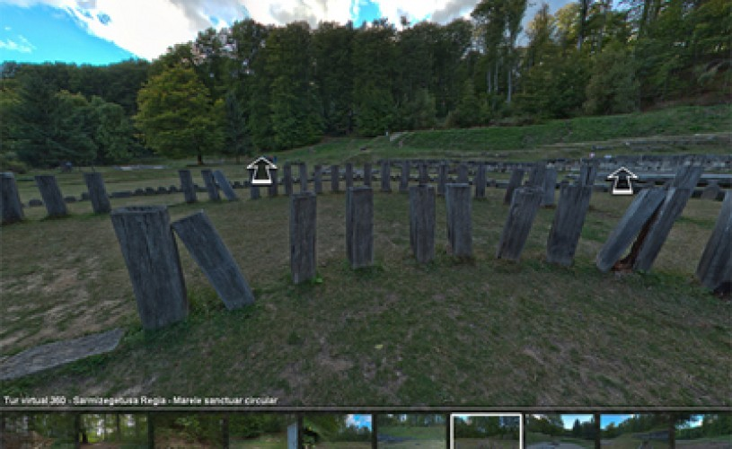 Sarmizegetusa si ansamblul Brancusi pot fi vizitate virtual
