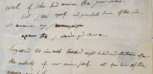 Se vinde scrisoarea lui Napoleon