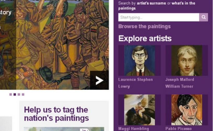 """Probabil cea mai MARE colectie de pictura din lume: Un site creat sub forma unui """"muzeu fara ziduri"""""""