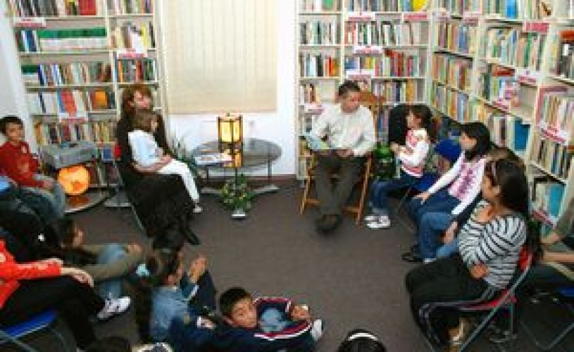 Atelier de teatru radiofonic si lecturi pentru copii in limba germana