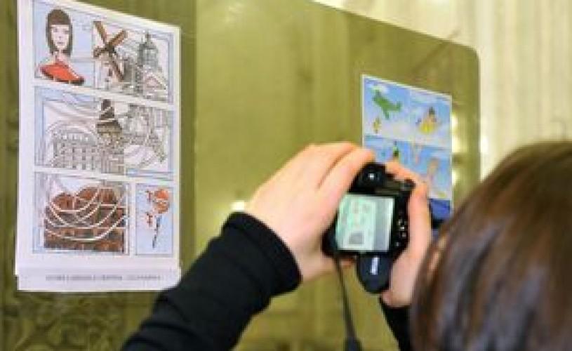 Povesti in imagini, benzi desenate, comicsuri la Galeria Galateca