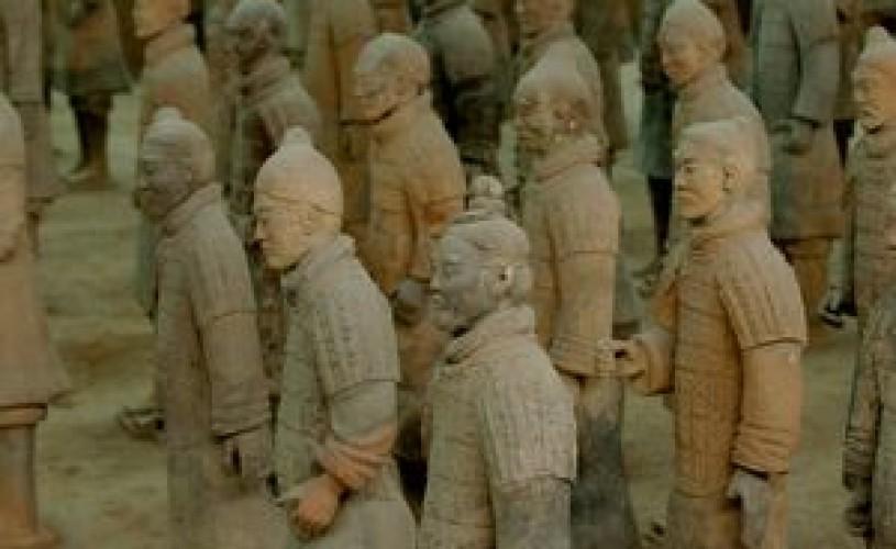 Figurine de teracotă aparţinând celebrei armate îngropate de la Xi'an (China) vor putea fi admirate la MNIR