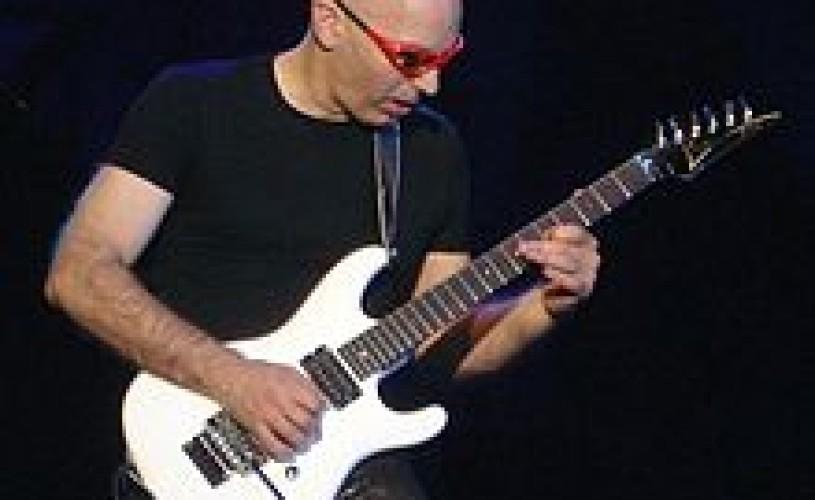 Joe Satriani vine în Bucureşti