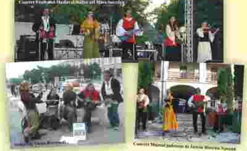 Concertul de muzică tradiţională europeană la Odeon