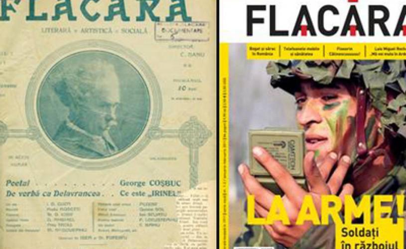 Revista Flacăra şi-a încetat apariţia în print