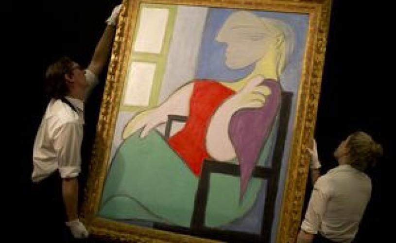 Un tablou de Picasso s-a vândut la licitaţie cu 28,6 milioane de lire sterline
