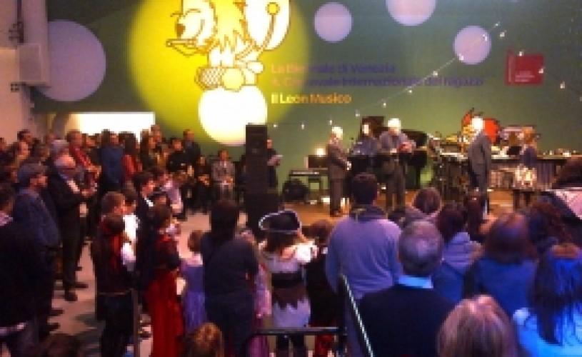 România la cea de-a IV-a ediţie a Carnavalului Internaţional al Copiilor de la Veneţia: Omuleţul lui Gopo