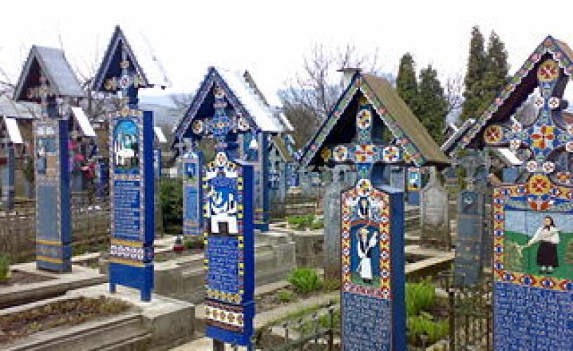 Cimitirul Sãpânṭa- vedeta expoziṭiei din Israel