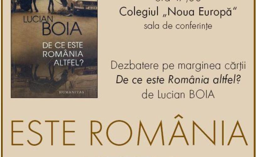 """VIDEO Lucian Boia, despre cartea """"De ce este România altfel?"""": """"S-a ajuns la un succes la care nu mă aşteptam"""""""