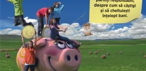 """""""Fabuloasa lume a banilor"""" - Prima expoziţie interactivă pe teme de educaţie financiară pentru copii"""