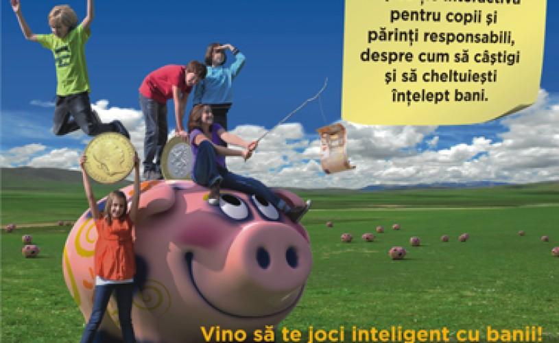 """""""Fabuloasa lume a banilor"""" – Prima expoziţie interactivă pe teme de educaţie financiară pentru copii"""