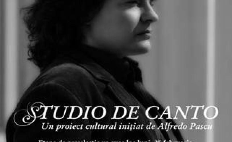 Preselecṭie pentru Studioul de Canto al tenorului Alfredo Pascu