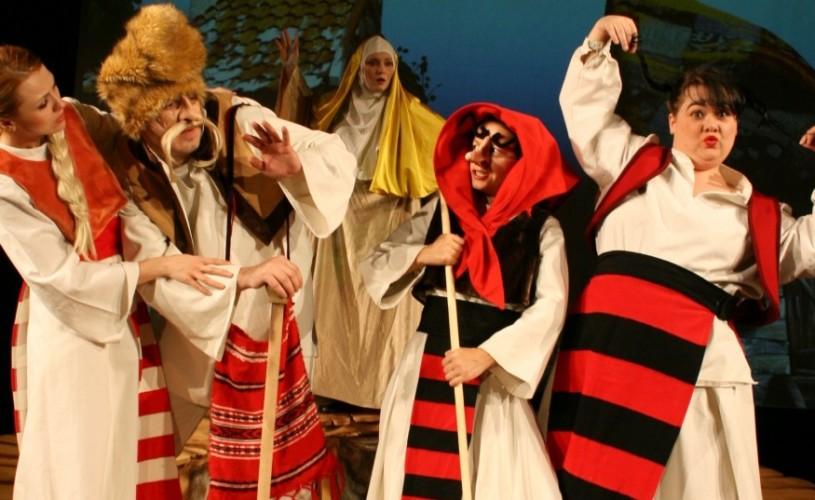 Teatrul Țăndărică prezintă de Ziua Mondială a Teatrului, în premieră, spectacolul ,,Fata babei și fata moșneagului''
