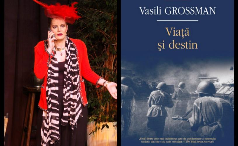 Maia Morgenstern va participa la spectacolul-lectură al cărții ,,Viață și destin'' de Vasili Grossman