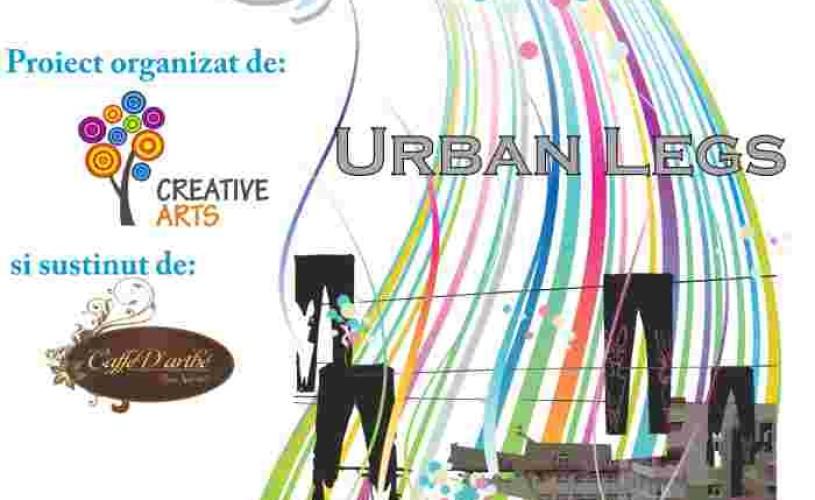 Urban Legs la PROIECT13. Atelier de animaţii pe colanţi