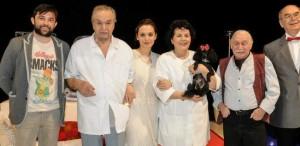 """Prietenii TVR 2 au văzut """"Floarea de cactus"""" la Teatrul Metropolis"""