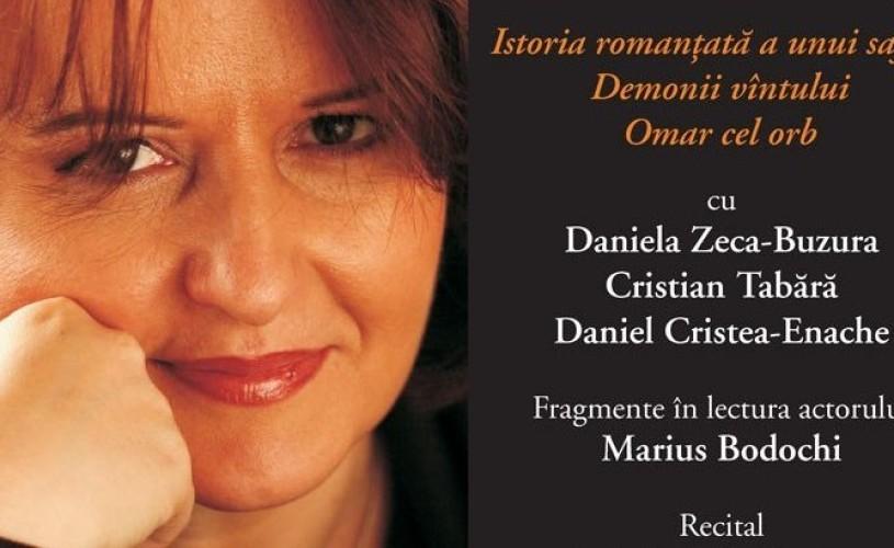"""""""Povestea unei trilogii"""", cu Daniela Zeca-Buzura, la Humanitas Cişmigiu"""