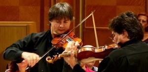 O seară neașteptată pe scena Sălii Radio cu un duel Stradivarius versus Guarneri