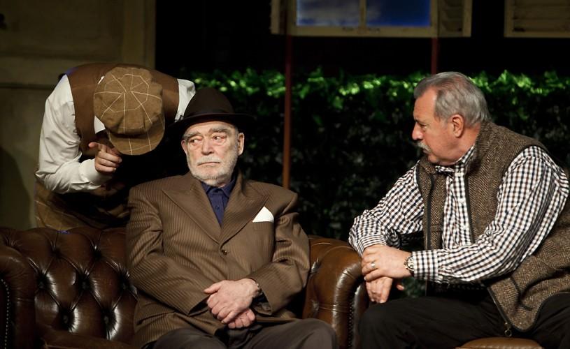 """Foto/Video EXCLUSIV Mari actori în """"Bădăranii"""", la Teatrul Metropolis"""