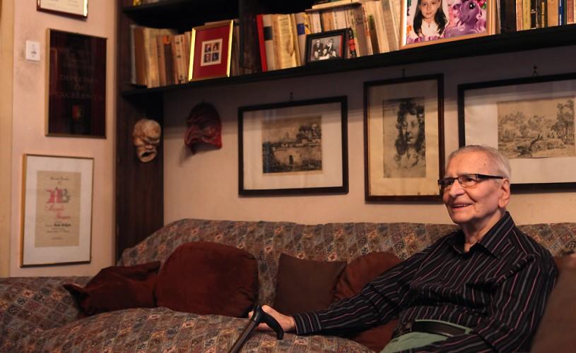 """Radu Beligan prezintă """"Teatru"""", o nouă emisiune pe TVR 2"""