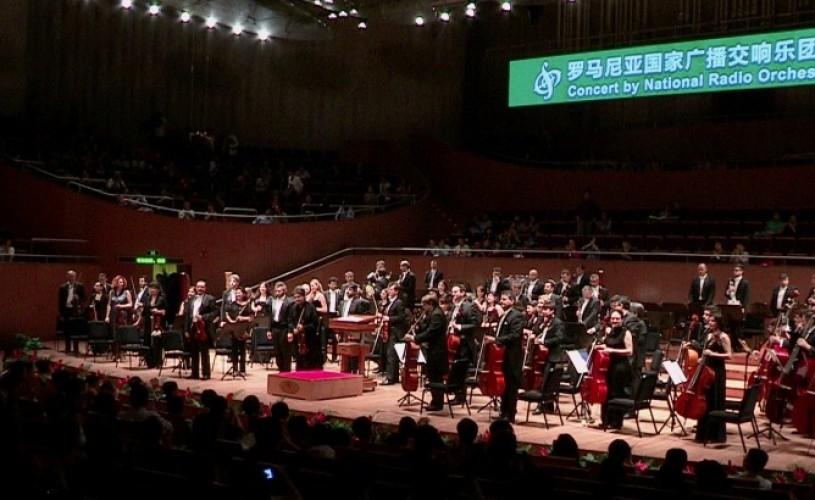 Succes al Orchestrei Naţionale Radio România la Shanghai Spring International Festival 2013