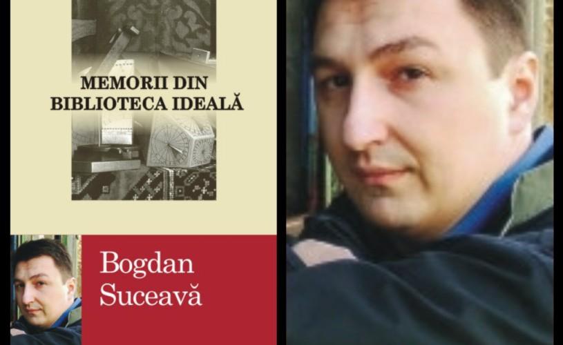 """Bogdan Suceavă porneşte într-un turneu de promovare al volumului """"Memorii din biblioteca ideală"""""""
