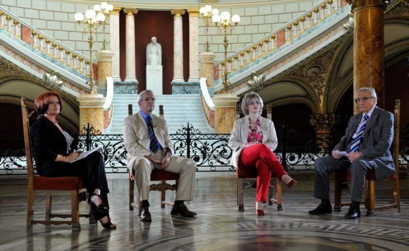 """VIDEO """"Daţi un leu pentru Ateneu""""– jubileul Ateneului Român la 125 de ani de la înfiinţare, astăzi, la TVR 2"""