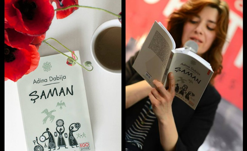 """Lectură publică la Cărtureşti Verona: Adina Dabija din romanul """"Șaman"""""""