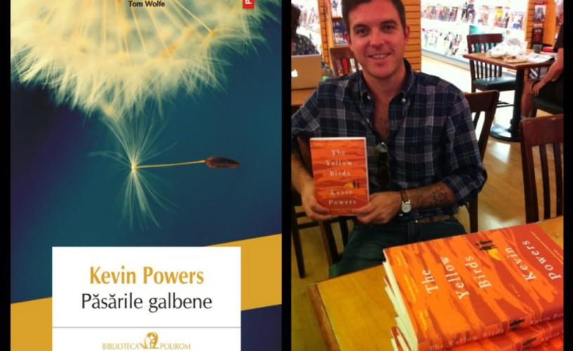 """Romanul despre război """"Păsările galbene"""" de Kevin Powers a fost premiat de """"Le Monde"""""""