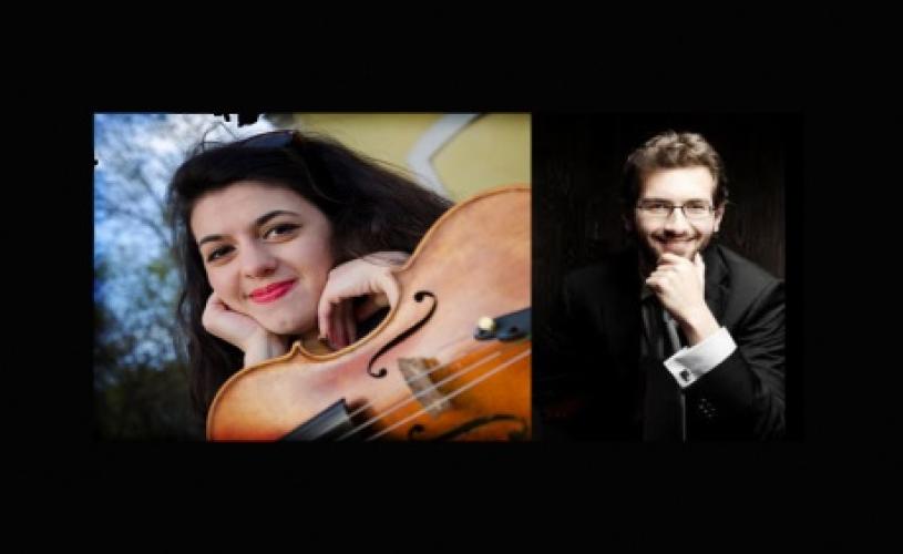 VIDEO Violonista Eva Demeter şi pianistul Theodoros Iosifidis concertează astăzi la Londra
