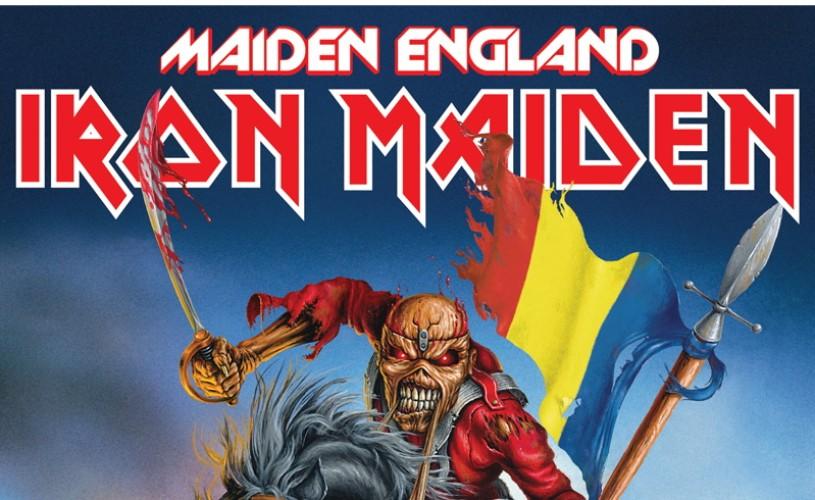 Iron Maiden în concert la București