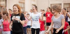 Un kilometru de entuziasm, în Alexandria, la Ideo Ideis