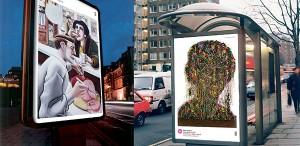 VIDEO Operele de artă au înlocuit panourile publicitare, în cea mai mare expoziţie din lume