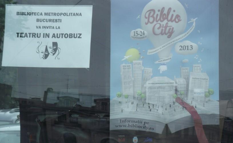 BiblioCity – manifestări culturale de amploare în Bucureşti