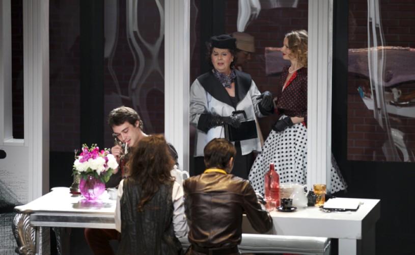 Tartuffe sau Impostorul. Adela Mărculescu şi George Costin, la Teatrul Metropolis