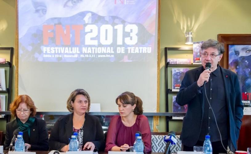 Divanele FNT au loc în prezenţa lui Ion Caramitru