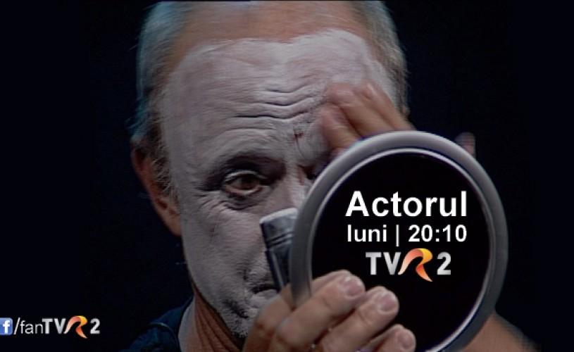 Actorul, un spectacol cu Mihai Mălaimare, la TVR 2