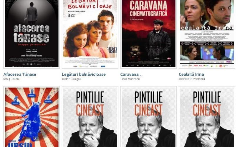Filme româneşti recente pot fi văzute fără niciun cost, legal, pe internet