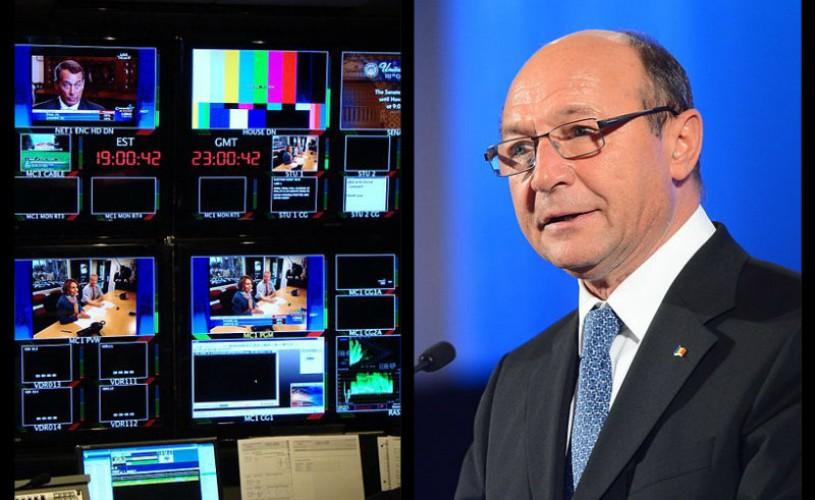 Traian Basescu a cerut respingerea legii emisiunilor culturale la televizor