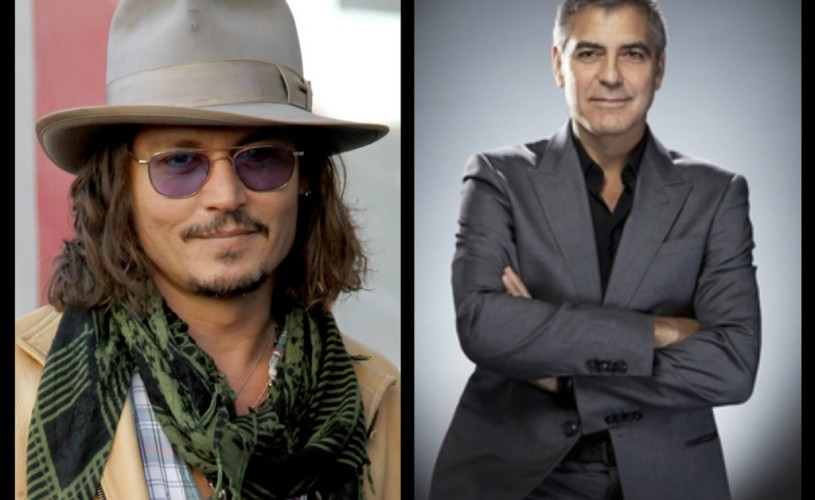 Johnny Depp şi George Clooney – motivele pentru care nu au cont pe reţelele de socializare