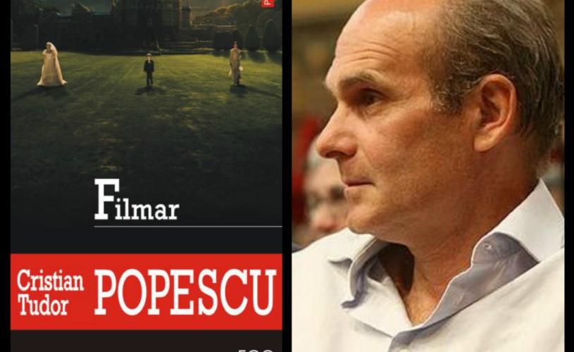 """Cristian Tudor Popescu: """"M-am întors la literatură"""