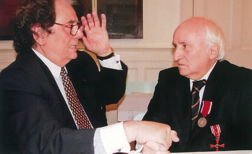 Richard Demarco, prietenul României – Cetăţeanul European al Anului